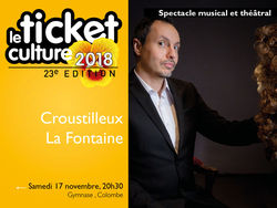 Ticket culture : Spectacle à Colombe