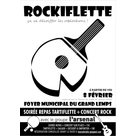 Rockiflette du tennis de table